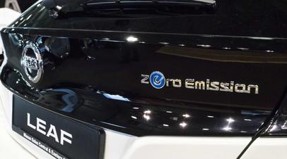 Продажи электромобилей в России выросли на 65% в январе — апреле