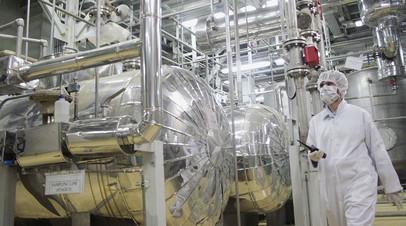 Производство гексафторида урана