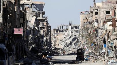 Amnesty International обвинила коалицию во главе с США в убийстве мирных жителей в Ракке