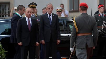 Песков объяснил, почему Путин передвигается на Mercedes в Вене