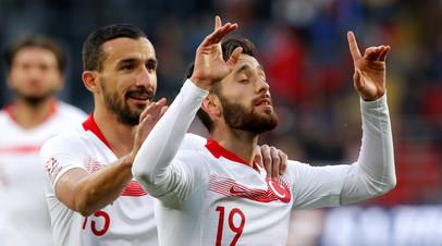 Сборная Турции сравняла счёт в контрольном матче с Россией