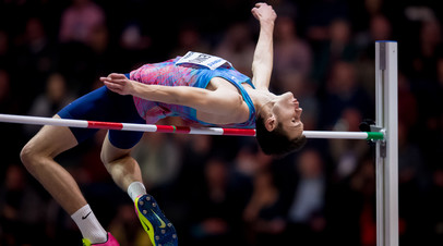 Россиянин Лысенко занял второе место в прыжках в высоту на этапе Бриллиантовой лиги в Осло