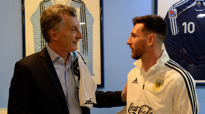 Президент Аргентины может посетить ЧМ-2018 по футболу в случае выхода сборной страны в финал