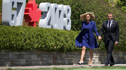 Макрон заявил, что G7 удалось прийти к совместному заявлению по торговле