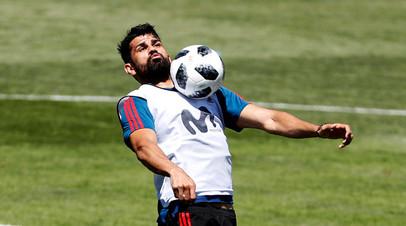 Футболист сборной Португалии Диего Коста