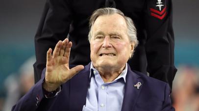 Джордж Буш — старший стал первым экс-президентом США, дожившим до 94 лет
