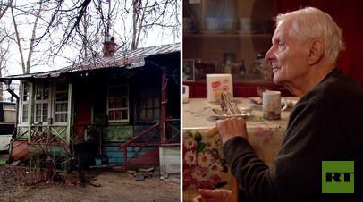 Семье проживающего в Серебряном Бору ветерана тыла выдали договор социального найма