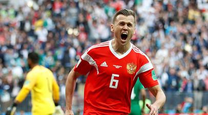 Черышев стал первым футболистом в истории ЧМ, забившим в матче открытия после выхода на замену