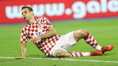 СМИ: Калинич будет исключён из состава сборной Хорватии из-за отказа выйти на замену в матче ЧМ-2018