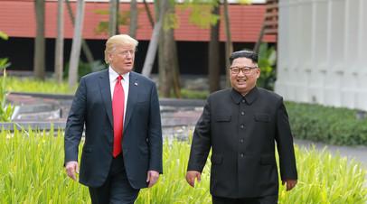 МИД России приветствовал приостановку военных учений США и Южной Кореи