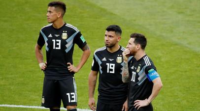 Стали известны стартовые составы сборных Аргентины и Хорватии на матч ЧМ-2018