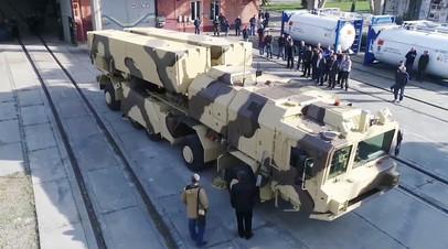 Украинский ракетный комплекс «Гром-2»