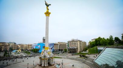 Площадь Независимости в Киеве © Aziz Karimov/ZUMAPRESS.com