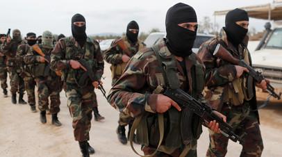 Боевики Сирийской свободной армии © Osman Orsal