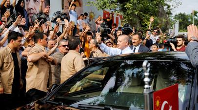 Президент Турции Реджеп Эрдоган © Alkis Konstantinidis