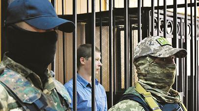 Евгений Мефёдов в зале суда