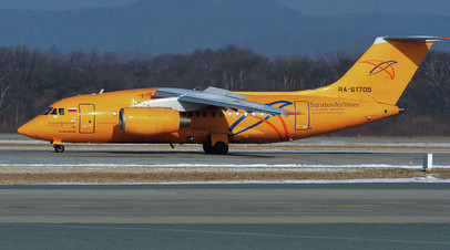 СК назвал причину крушения Ан-148 «Саратовских авиалиний» в Подмосковье