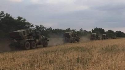 Украинские военные провели учения возле границы с Крымом