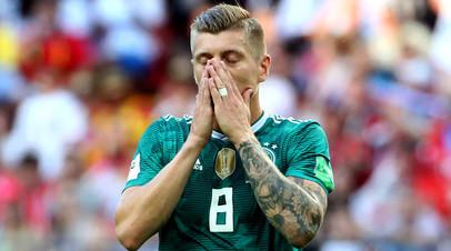 Футболист сборной Германии Тони Кроос