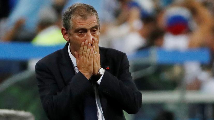 Тренер сборной Португалии Сантуш: мы проиграли Уругваю не из-за Роналду