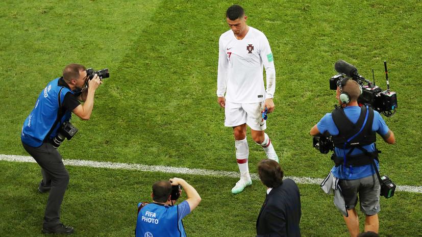 Что говорили после матча 1/8 финала ЧМ-2018 Уругвай — Португалия