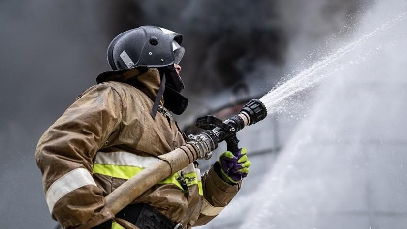Источник: около 100 человек эвакуированы из горящей гостиницы в Анапе