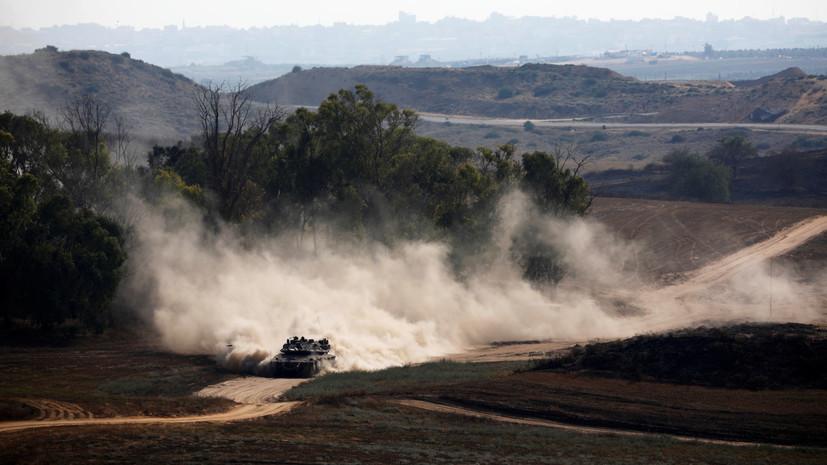 Израиль перебросил дополнительные танки и артиллерию в район Голанских высот