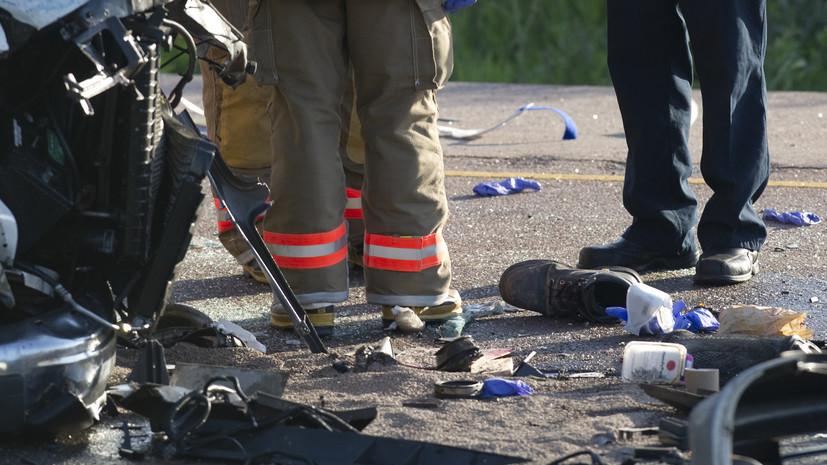 В Канаде 26-летний хоккеист погиб в ДТП вместе с женой и тремя детьми