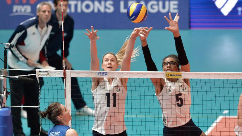 Женская сборная США по волейболу стала первым в истории победителем Лиги наций