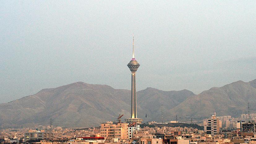 В Иране заявили о прибытии в Персидский залив корабля США с химическими веществами