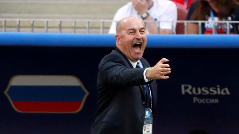 Черчесов заявил, что сборная России знала, как играть с Испанией в 1/8 финала ЧМ-2018