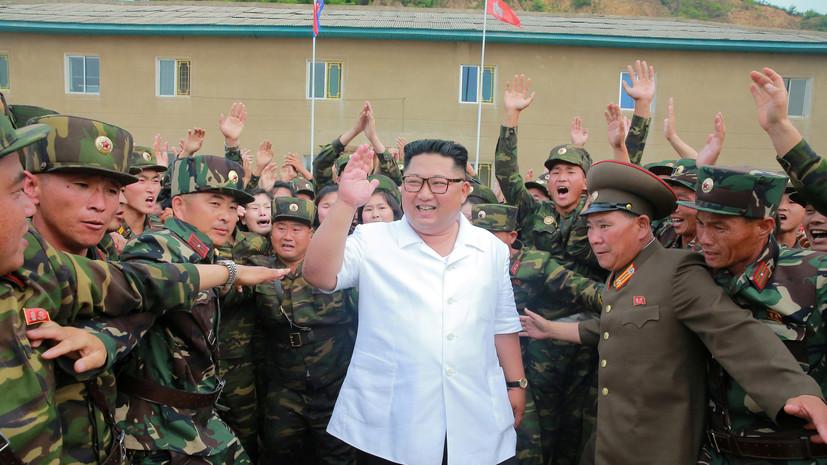 Ким Чен Ын прокатился на Lada Priora