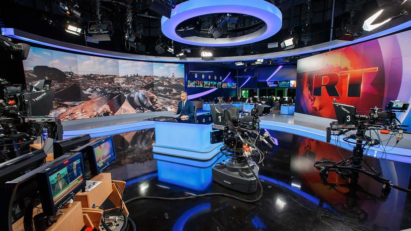 RT возглавил рейтинг топ-СМИ в Mediametrics за июнь