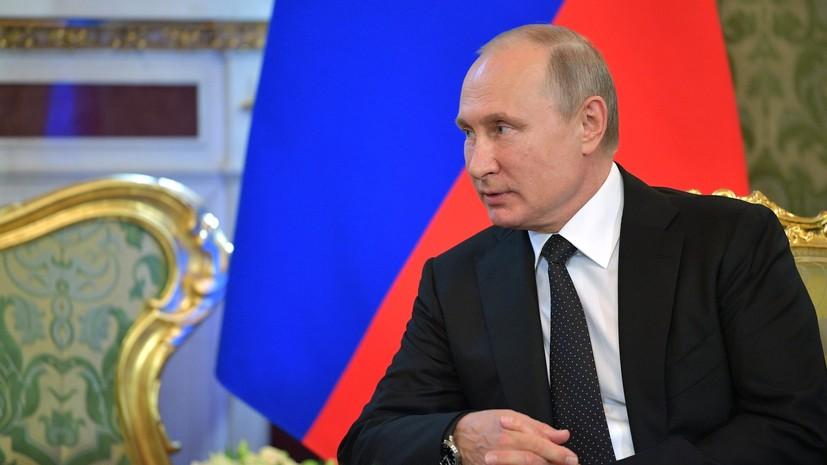 Песков заявил, что Путин от всей души болел за сборную России в матче с Испанией