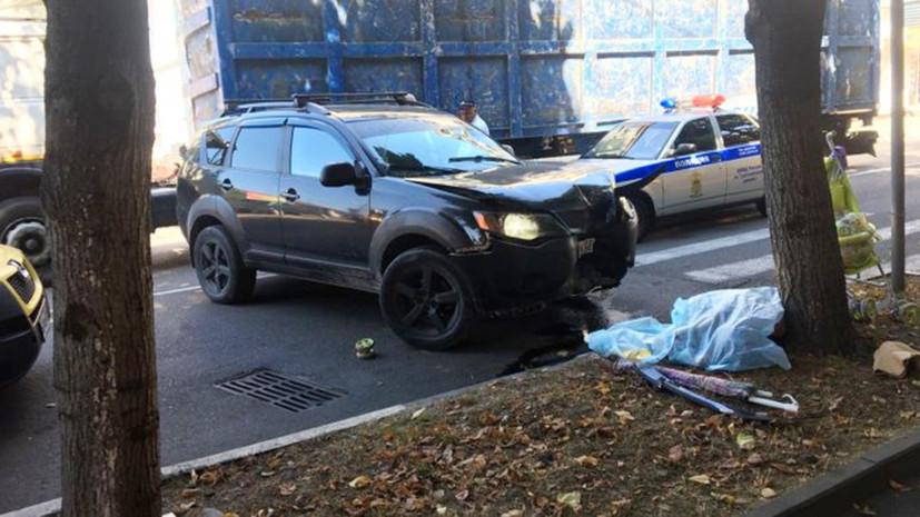 Суд арестовал водителя, насмерть сбившего жену игрока КВН в Туапсе