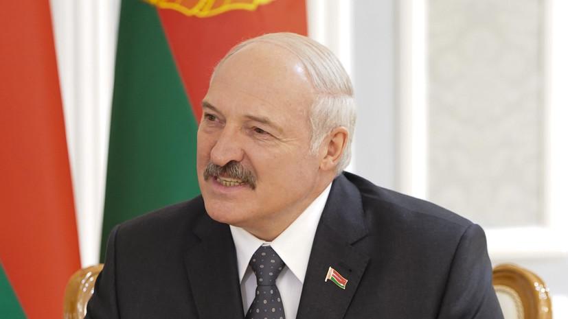 Лукашенко назвал главное оружие современности