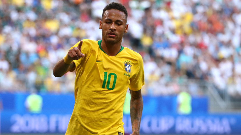 Неймар признан лучшим игроком матча Бразилия — Мексика