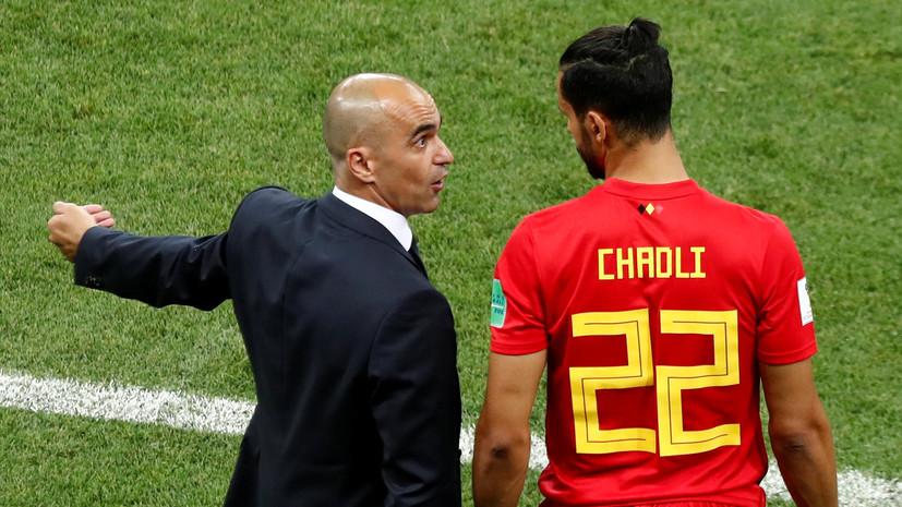 Мартинес отметил характер игроков сборной Бельгии после победы над Японией на ЧМ-2018