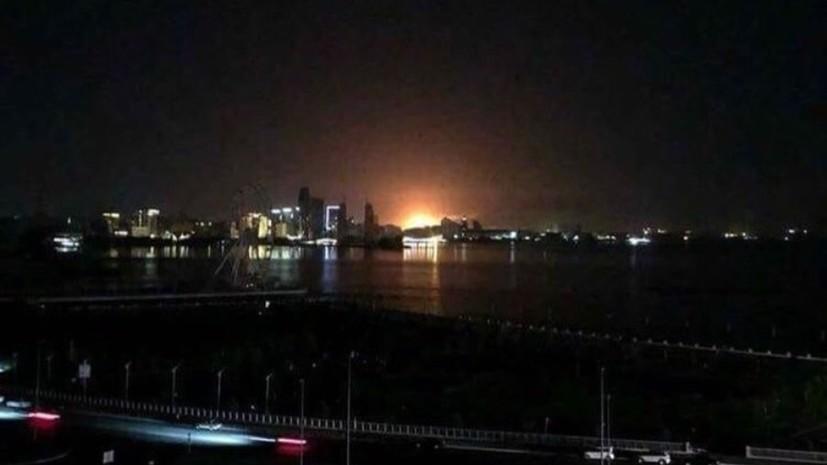 Почти весь Баку остался без электричества из-за аварии на электростанции