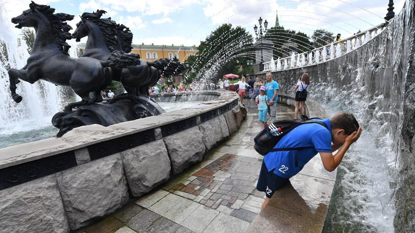 Прошедший июнь в России стал одним из самых тёплых за историю метеонаблюдений