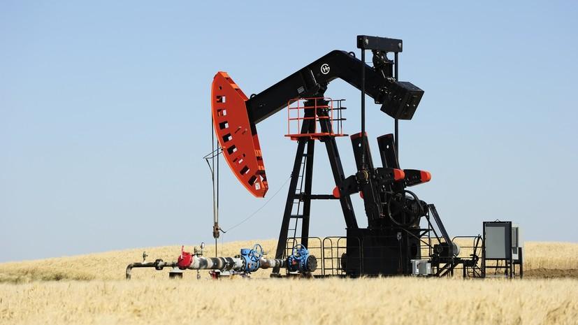 Цена на нефть WTI впервые с ноября 2014 года превысила $75 за баррель