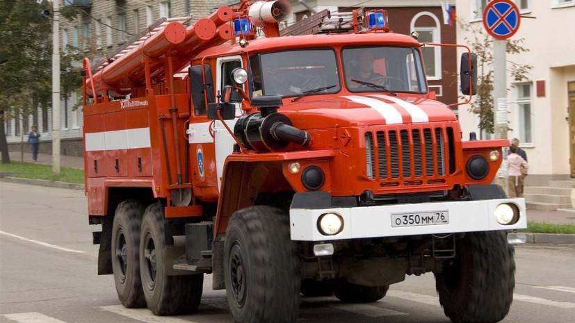 В торговом центре в Краснодаре произошёл пожар