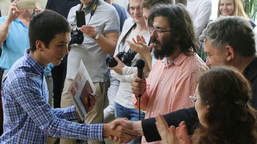 Замдиректора московской школы рассказал о сдавшем ЕГЭ на 400 баллов выпускнике