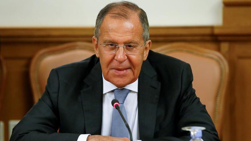 Лавров и Помпео обсудили подготовку к саммиту лидеров России и США