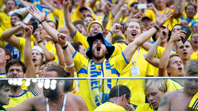 шведские болельщики покорили санкт-петербург