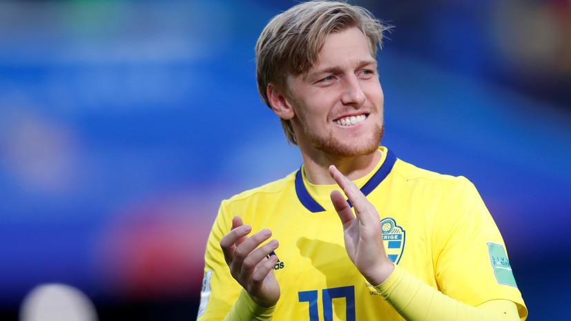 Форсберг рассказал, в чём сила сборной Швеции на ЧМ-2018