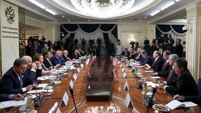 Один из посетивших Москву парламентариев США находился в чёрном списке
