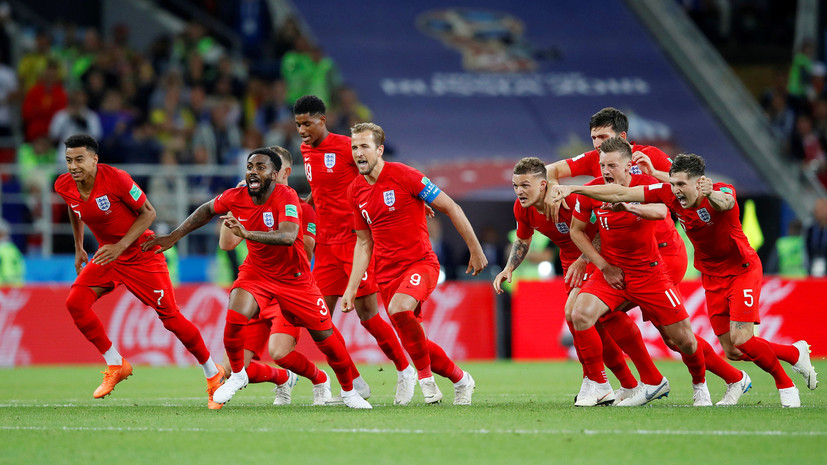 Победа в «лотерее»: сборная Англии впервые взяла верх в серии пенальти и переиграла Колумбию в 1/8 финала ЧМ-2018