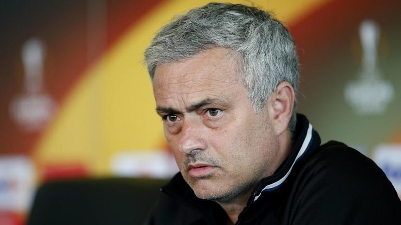 Моуринью ответил на вопрос, кто его любимый игрок в «Манчестер Юнайтед»
