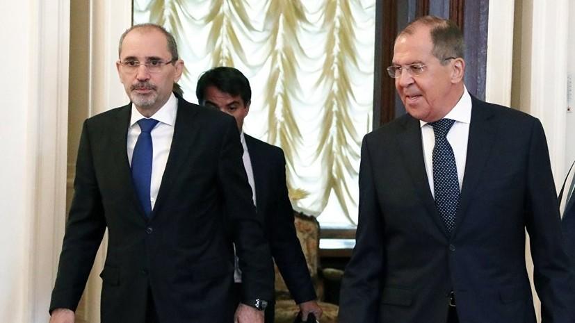 Военные России, США и Иордании ведут диалог по ситуации с южной зоной деэскалации в Сирии